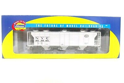 Athearn RTR HO NYC New York Central PS 2893 Covered Hopper Train Car 93731 READ