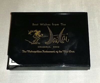 Jai Lai Restaurant 1950-60's Columbus Ohio-2 Decks Vintage Playing Cards SEALED