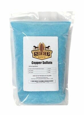 Seedranch Cuivre Sulfate Poudre Pentahydrate - 4.5kg