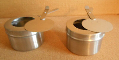 Standard Size Set of 2 Sterno Holders for Chafing Dish Use