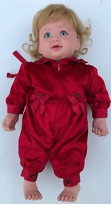 My Twinn Toddler Blond Blue Eyes Tagged Red Jumper Karen Williams Smith Posable