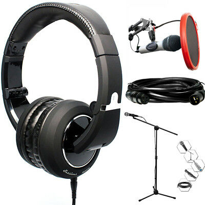 CAD Audio Closed-back Studio Headphones (MH510) + Technical Pro Bundle