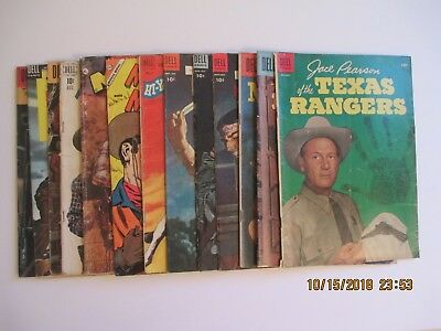 Lot Of (15) Various Western Related Comic Books Dell