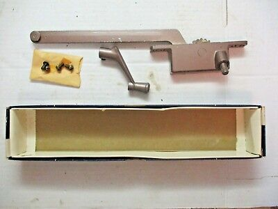 "1 Vintage Henne USA Casement Window Operator No. 50 Left Hand 9"" Arm Bronze"