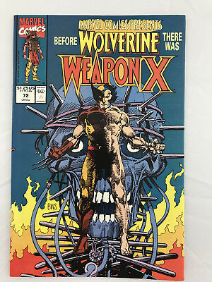 Marvel Presents #72 1st Weapon X story Wolverine Barry Windsor Smith art