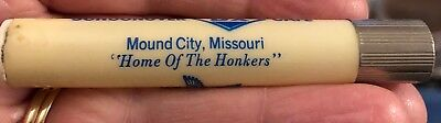 Mound City Missouri Home of Honkers Schoonover DX Cafe Sewing Kit Needle case
