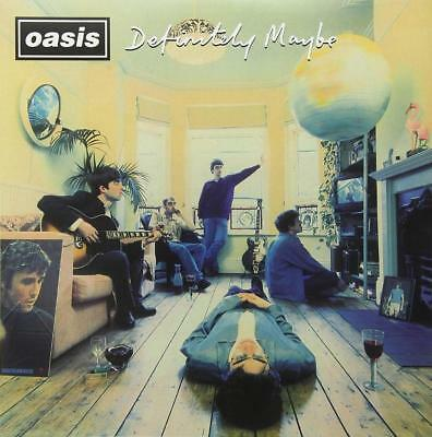 "OASIS Wall Poster DEFINITELY MAYBE Britpop Noel Liam Gallagher  20X20"" 30X30"""