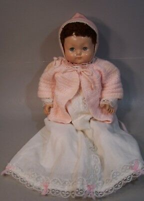 Super Vintage 18 inch Marked Effanbee Composition Baby Doll