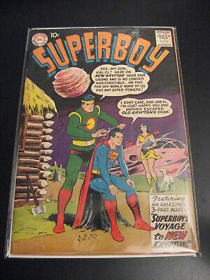 SUPERBOY #74 (VG+) <---VF! but water contact :(   Press It? **Bright & Glossy!**