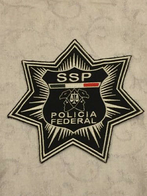 Defunct Mexico Federal Policia SSP Old Style Police Patch