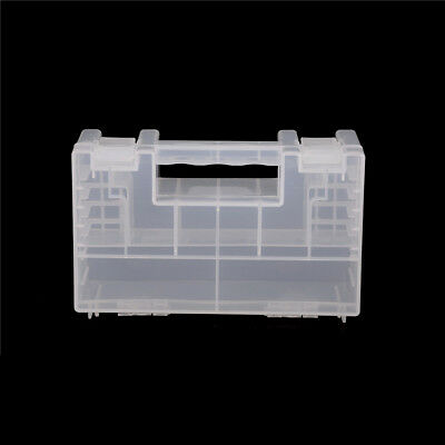 Large Port Hard Plastic Battery Case Holder Storage Box for AA/AAA Battery FBCA