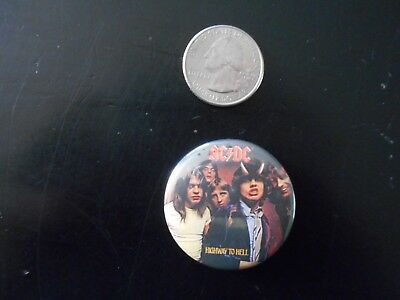 AC/DC Highway to Hell Pinback Button