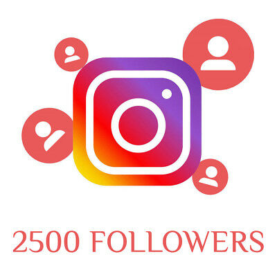 Instagram Service - Buy 2,500 Guaranteed Quality Followêrs
