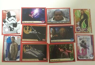 Star Wars Cards - The Last Jedi