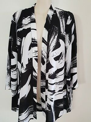 Ladies Black & White *seed Heritage** Jacket** One Size Fits All**nwt