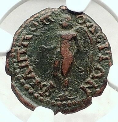 CARACALLA Philippopolis Thrace Genuine Ancient Roman Coin EROS CUPID NGC i72890