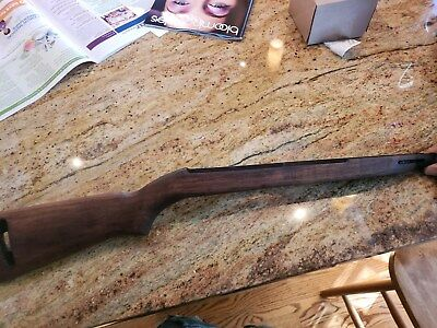 M1 Carbine Stock U.s. G.i. Wra Ghd Marked On Both Sides No Cracks