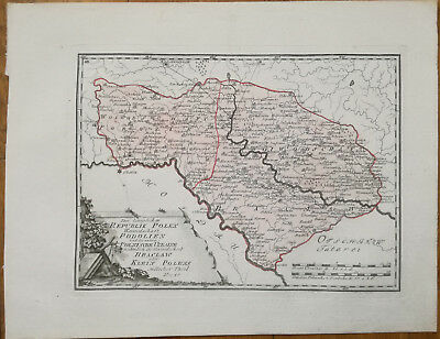 Reilly Original Engraved Folio Map Podolien Brazlaw Ukraine - 1789
