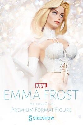 Emma Frost 'Hellfire Club' Premium Format™ Figure by Sideshow Collectibles