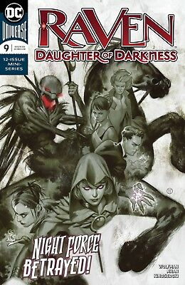 Raven Daughter Of Darkness #9 - Dc Universe - Release Date 24/10/18