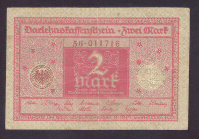 1920 Germany Weimar 2 Mark (red) P.59
