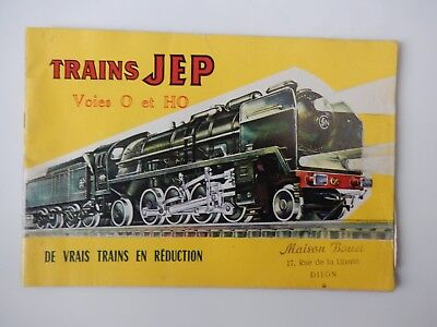 Catalogue miniatures trains JEP  1959 plus liste tarif