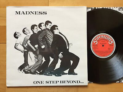 MADNESS One Step Beyond LP + OIS 1ST GERMAN CLUB PRESS 1979