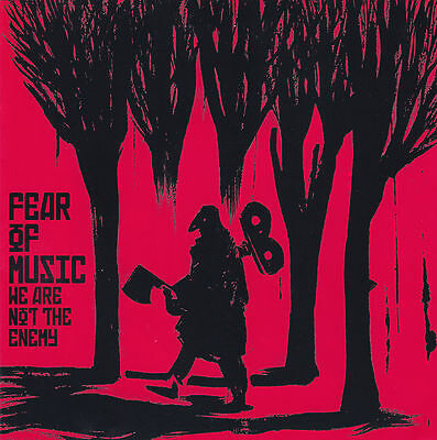"""FEAR OF MUSIC / We Are Not The Enemy / NUMBERED 7"""" VINYL / MINT"""