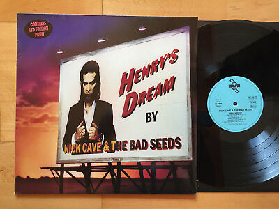 NICK CAVE & THE BAD SEEDS Henry's Dream LP + OIS 1ST PRESS 1992
