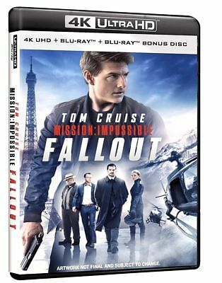 Blu Ray Mission: Impossible - Fallout (4K Ultra HD 2 Blu Ray) - Disp 12 Dicimbre