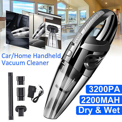 AUDEW Rechargeable Wet & Dry Handheld Cordless Car Vacuum Cleaner for Car Home