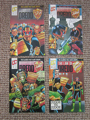 Judge Dredd - The Law of Dredd - 2000AD - Issues 1 - 4 - Fleetway Quality Comics