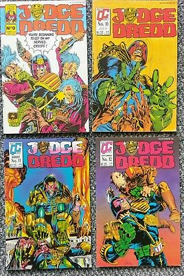 Judge Dredd #9, #10, #11 #12, #13, #14, #15, #16 (8 comics) - Quality 1987/88