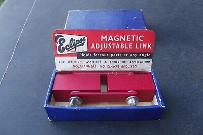 Vintage ''eclipse'' Magnetic Adjustable Link , Sheffield England