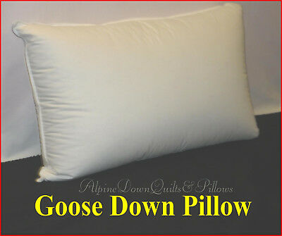 Standard Pillow Goose Down & Feather  Australian Made Spring Sale