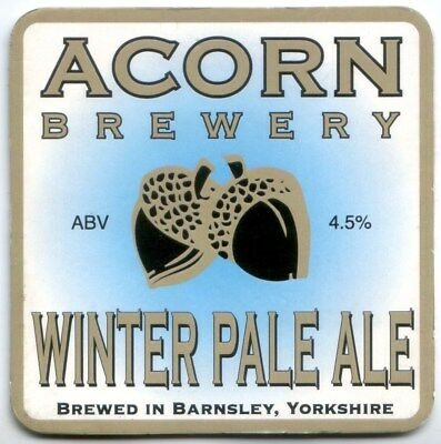 Acorn Brewery - Barnsley - Yorkshire - Beer Pump Clip - Winter Pale Ale