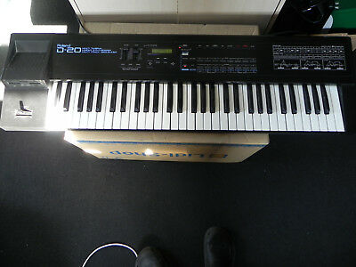 Roland D 20, 32 stimmiger funktionierender Synthesizer