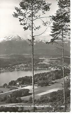"Velden an Worthersee (Austria) Black and White Postcard 5.5"" by 3.5"""