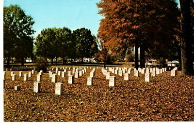 Corinth National Cemetery in the Fall, MS Postcard