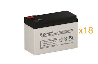2 12V 7.2Ah F2 Fresh Stock Compatible Battery Set for Minuteman PX 10//.7r UPS by UPSBatteryCenter