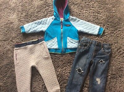 BOYS ClOTHES BUNDLE TED BAKER MANTARAY JEANS HOODED JACKET JOGGERS 9-12 MONTHS