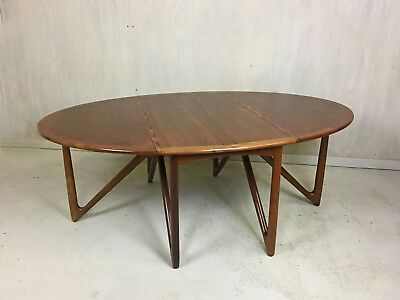 "Danish Modern Kurt Ostervig Teak ""Spider"" Table"
