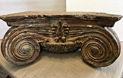 Acanthus Leaf Scroll Corbel Bracket Architectural Accent Home Decor