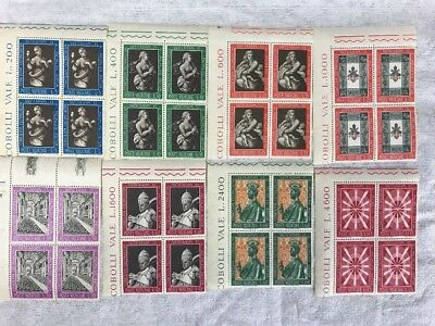 50's 60's Vatican Stamps, Anguilla, Catholic Religious Series Set Never Hinged