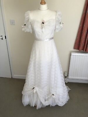Wedding Dress Size 8 Victorian Style