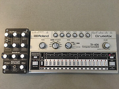 Roland TR-606 Vintage Drum Machine with Midi, Separate Outputs, & Special Mods