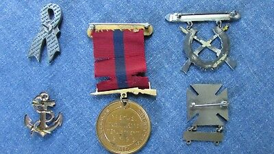 Named WW I MARINE CORPS Good Conduct MEDAL Enlist 1915-19 1916 Dominican Campn.
