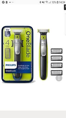 Philips One Blade QP2530/25 Electric Trimmer Styler Shaver 4 Combs Wet & Dry