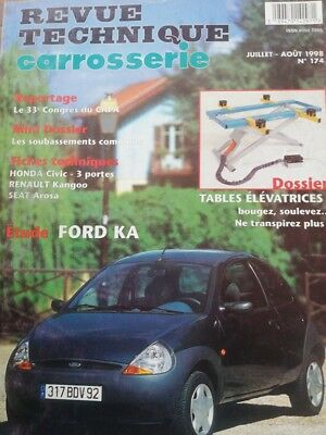 Neuf !  FORD KA Revue technique CARROSSERIE RTA 174 1998 civic kangoo seat arosa