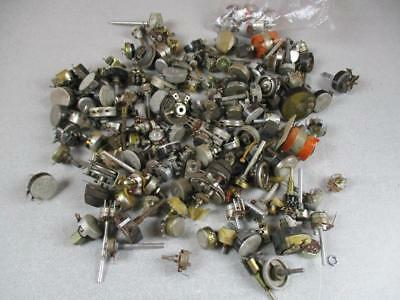 10 LB Lot Of Vintage Potentiometers Used And New